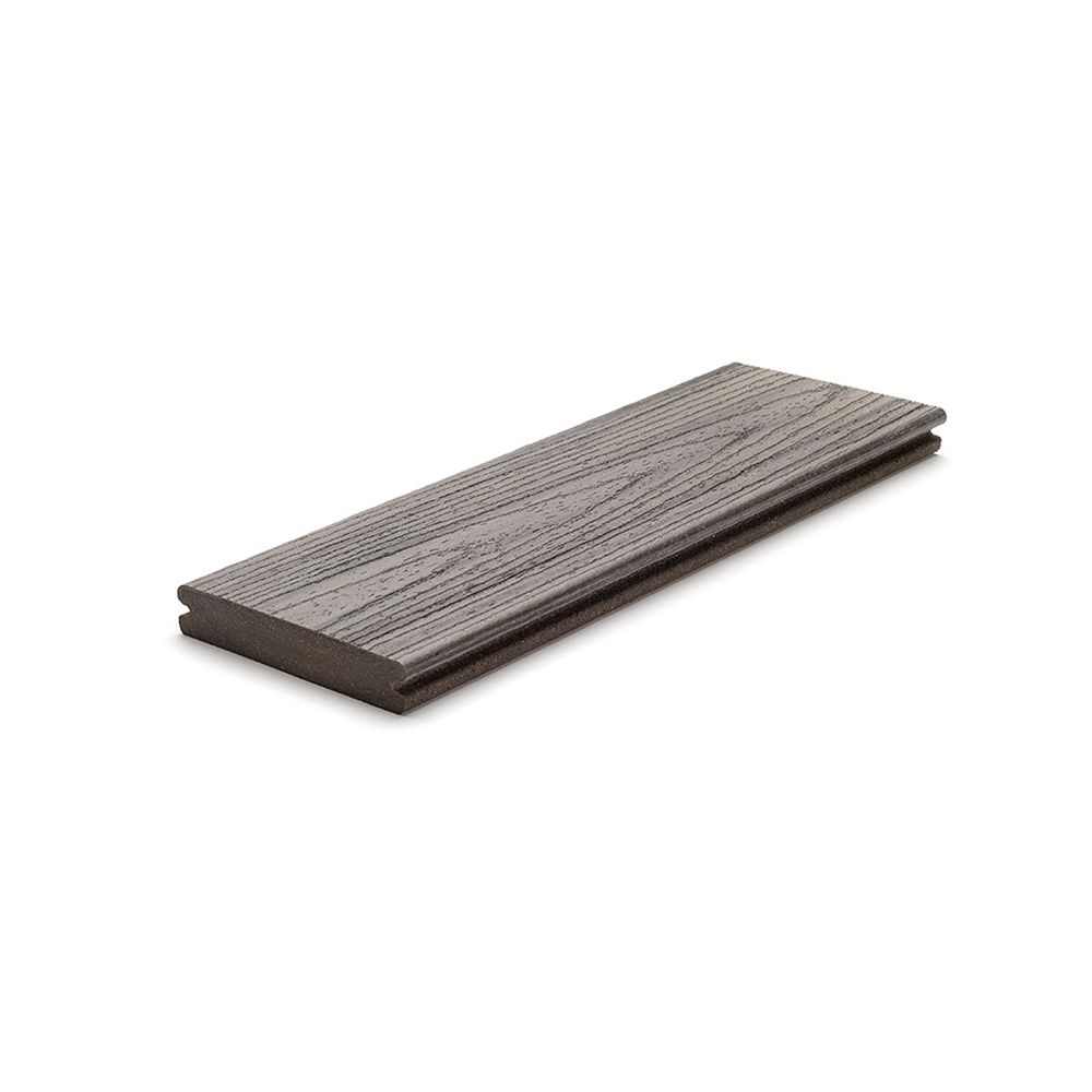 Trex 12 Ft. - Transcend Tropical Composite Capped Grooved Decking - Island Mist