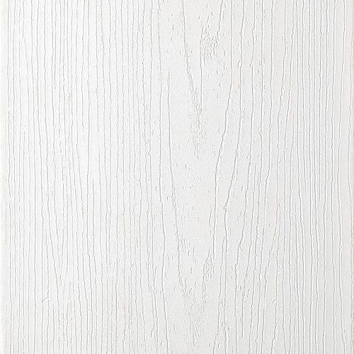 12 Pi. - Transcend Bordure en Composite Blanc - 1 po x 8 po