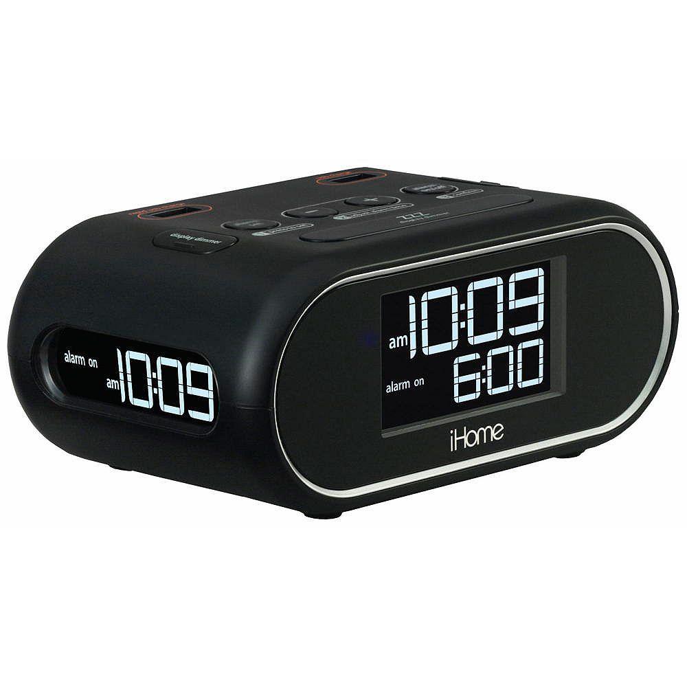 Hti Industries Llc Dba Hotel Technologies Hti industries ihome lcd triple display alarm clock with dual usb charging