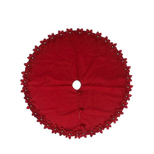 54 inch Red Tree Skirt