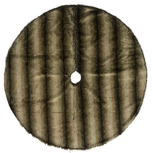 54 inch Faux Fur Tree Skirt