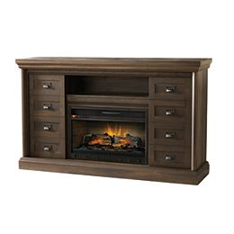 Calverley 60 inch Media Console Electric Fireplace