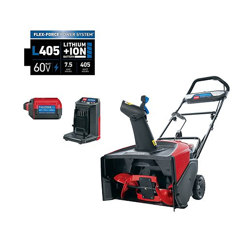Toro 21 inch Power Clear e21 60V (7.5 ah) Battery Snowblower