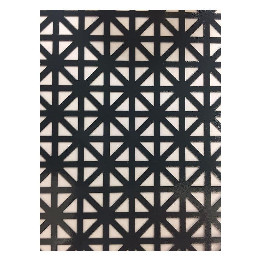 M-D Building Products 1 ft. X 2 ft. Aluminium Sheet Union Jack Graphite