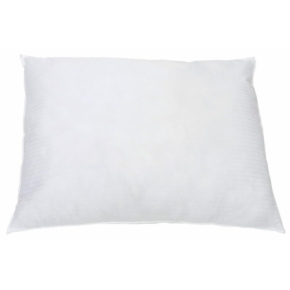 Ganesh Mills Standard 20 in. X 26 in. 22 oz. Hollow siliconized fibre fill pillow white (12-case)