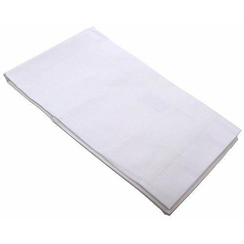 Taies d'oreiller blanches standard, 42po × 36po (144par caisse)