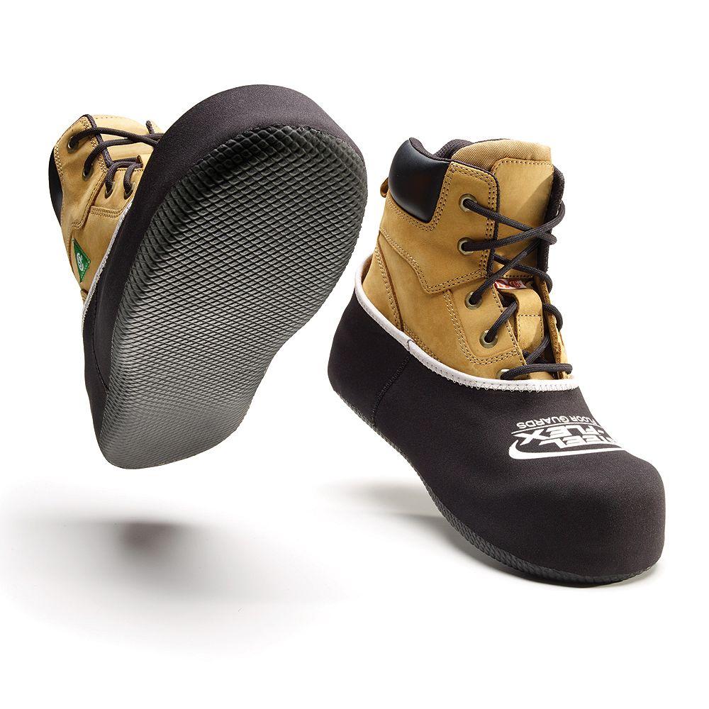 STLFLX Les Couvre-Chaussures Réutilisables En Floorguardz De  (Grande (H'S 8 À 12))