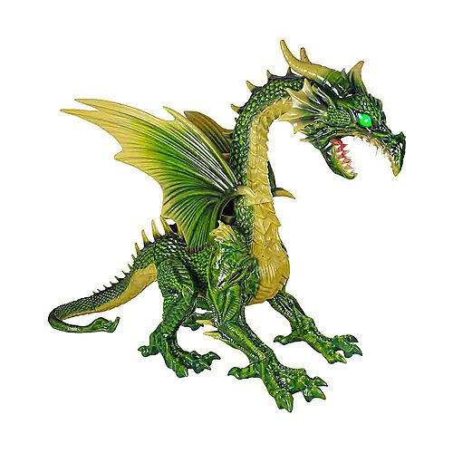 Giant Green Dragon without Fog Machine