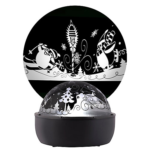 ShadowLights Snow Characters Tabletop Light Show