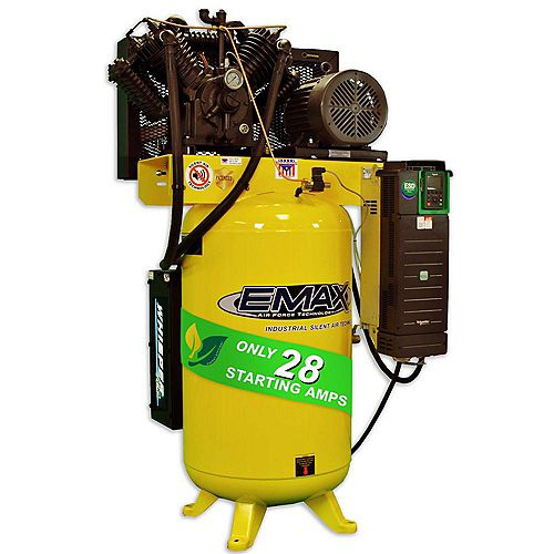 10 HP Air Compressor, Variable Speed, Single Phase, Silent Air Unit