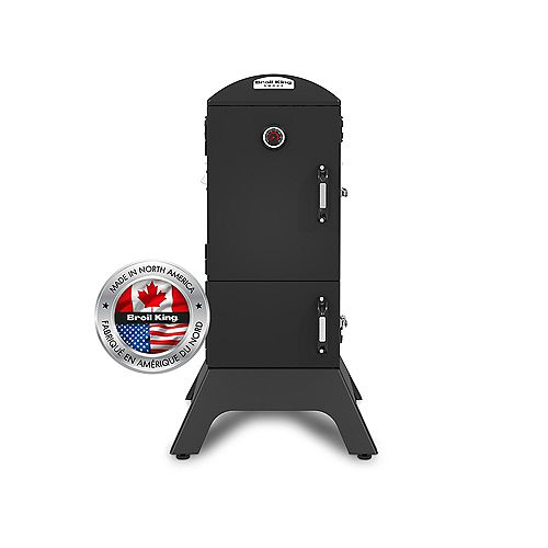 Broil King Smoke 770 sq. inch Vertical Charcoal Smoker