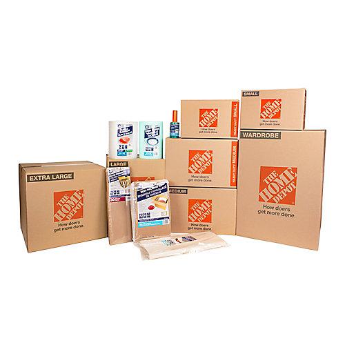 3 Bedroom 1500 sqft 80-Box Moving Bundle