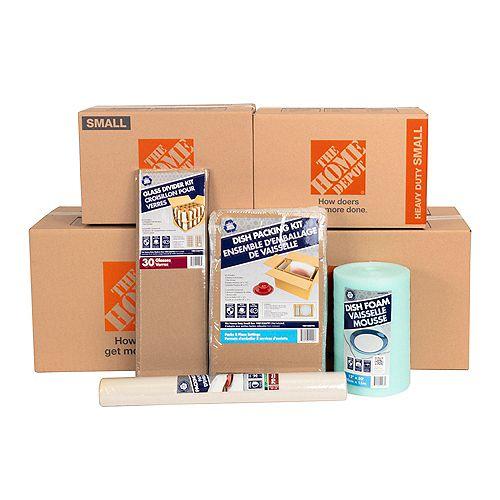 10-Box Kitchen Moving Bundle