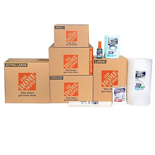11-Box Master Bedroom Moving bundle