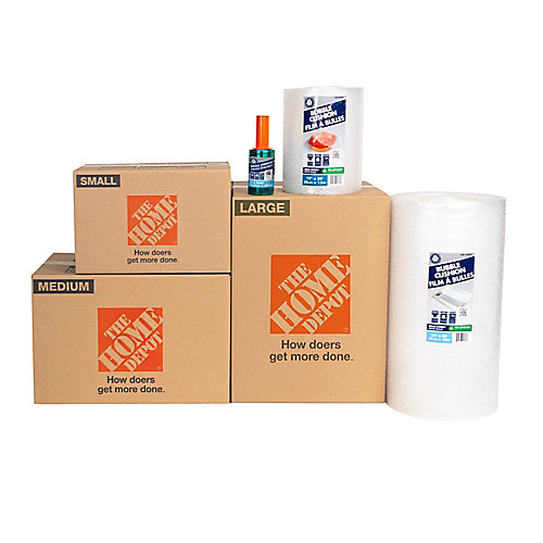 12-Box Living Room Moving Bundle
