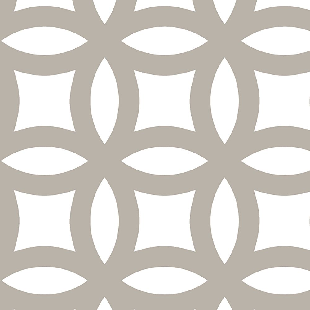 M-D Building Products 1 ft. X 2 ft.  Aluminium Sheet Mosaic Satin Nickel