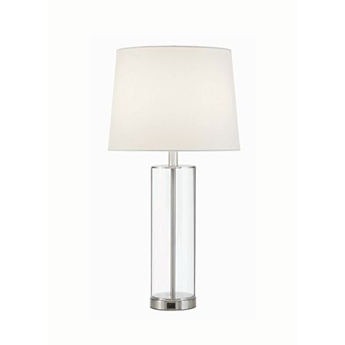 Acrylic Table Lamp with USB Port (2-Pack)