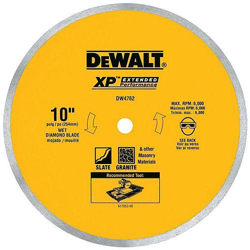 DEWALT 10-inch x .060-inch Porcelain Tile Blade Wet