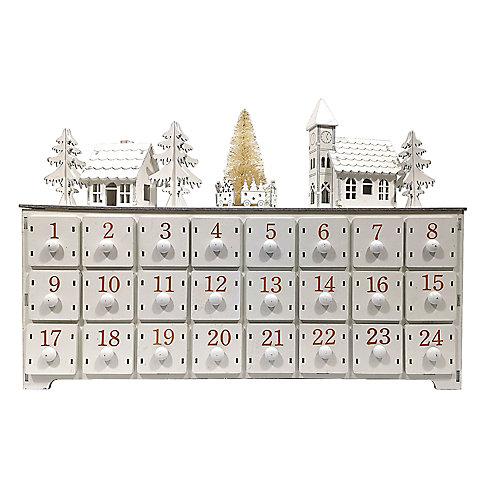 15 inch Advent Calendar and Music Box