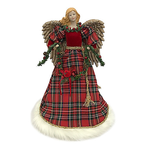 16 inch Plaid Angel