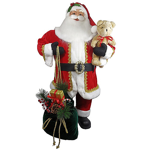 3 ft. Santa Christmas Decoration