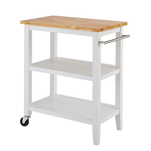 Wood Kitchen Cart