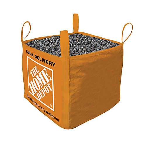 Pea Stone - Bulk Delivered Bag - 1 Cubic Yard (9.5 - 15.9mm /  3/8 - 5/8inch)
