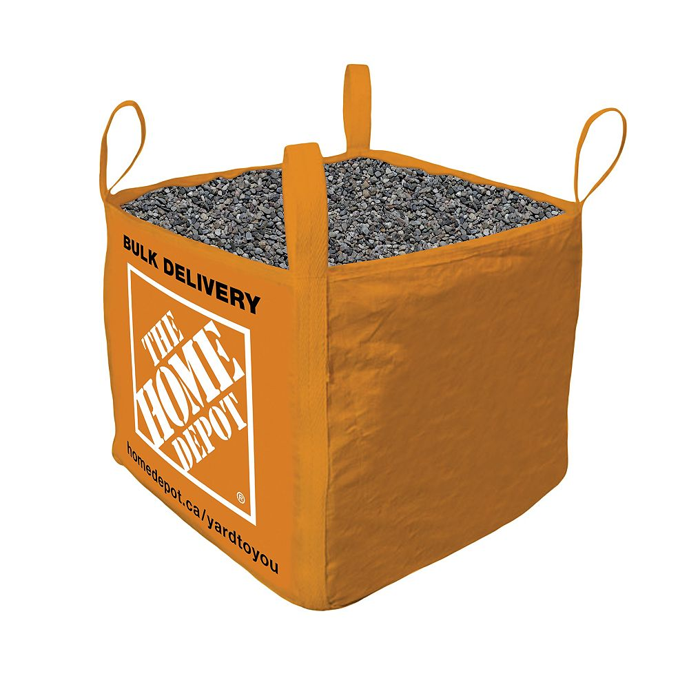 Yard-to-you Pea Stone - Bulk Bag Delivered - 1 Cubic Yard (9.5 - 15.9mm / 3/8 - 5/8in)
