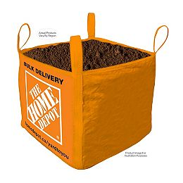 Compost:  Sac livré en vrac - une verge cube
