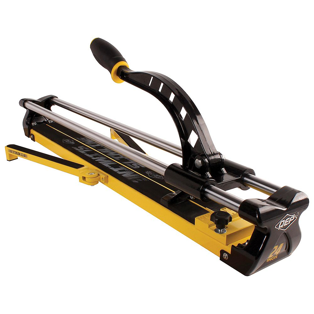 Qep 24 Inch Professional Slimline Tile Cutter The Home Depot Canada