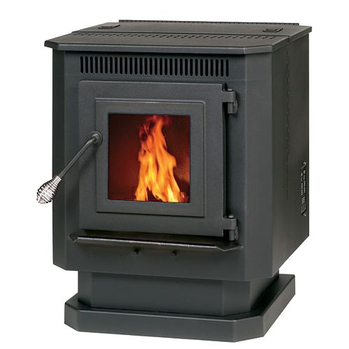 Englander Pellet Stove with 40 lb. Hopper for up to 1500 sq. ft. Spaces