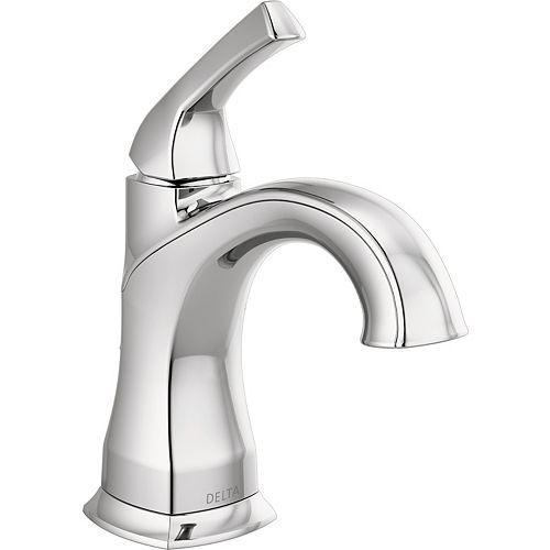Delta Portwood 4-inch Centerset Single-Handle Bathroom Faucet in Chrome