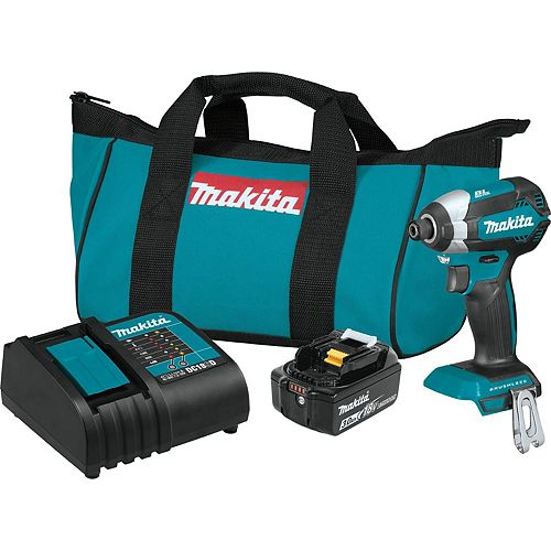 1/4-inch Cordless Impact Driver with Brushless Motor