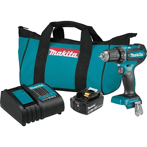 1/2-inch Cordless Drill/Driver with Brushless Motor
