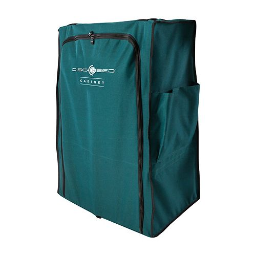 Disc-O-Bed Storage Cabinet, Soft Sided, Green