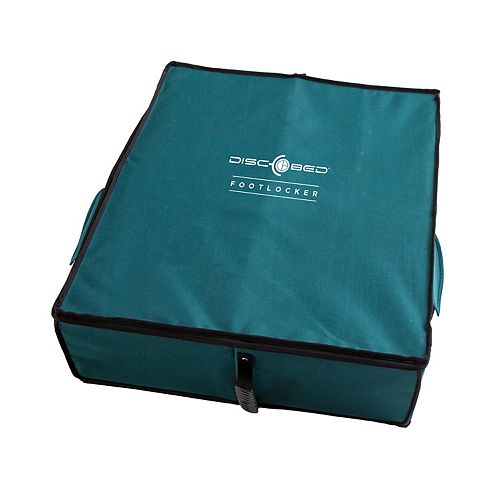 Disc-O-Bed Foot Locker, Soft Sided, Green