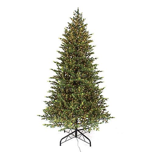 9 ft. 3000-Light Warm White Micro Dot LED Pre-Lit Norway Spruce Christmas Tree