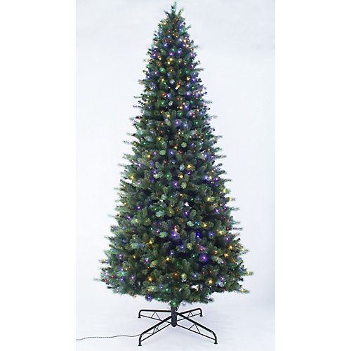 12 ft. 1200-Light Braxton LED Colour Changing 8-Function Christmas Tree