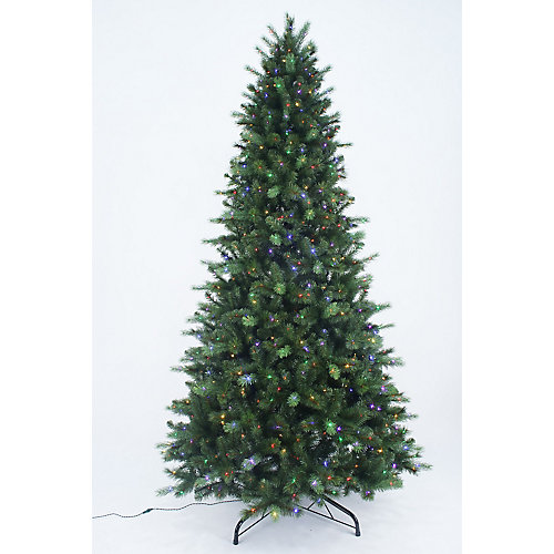 9 ft. 900-Light 8-Function Colour Changing LED Pre-Lit Braxton Christmas Tree