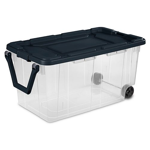 Sterilite 151L Wheeled Storage Box