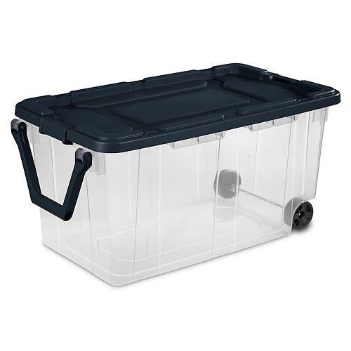 Sterilite 151L Wheeled Storage Box