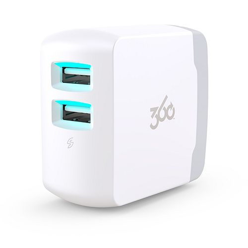 Vivid4.8 Premium Wall Charger (White)