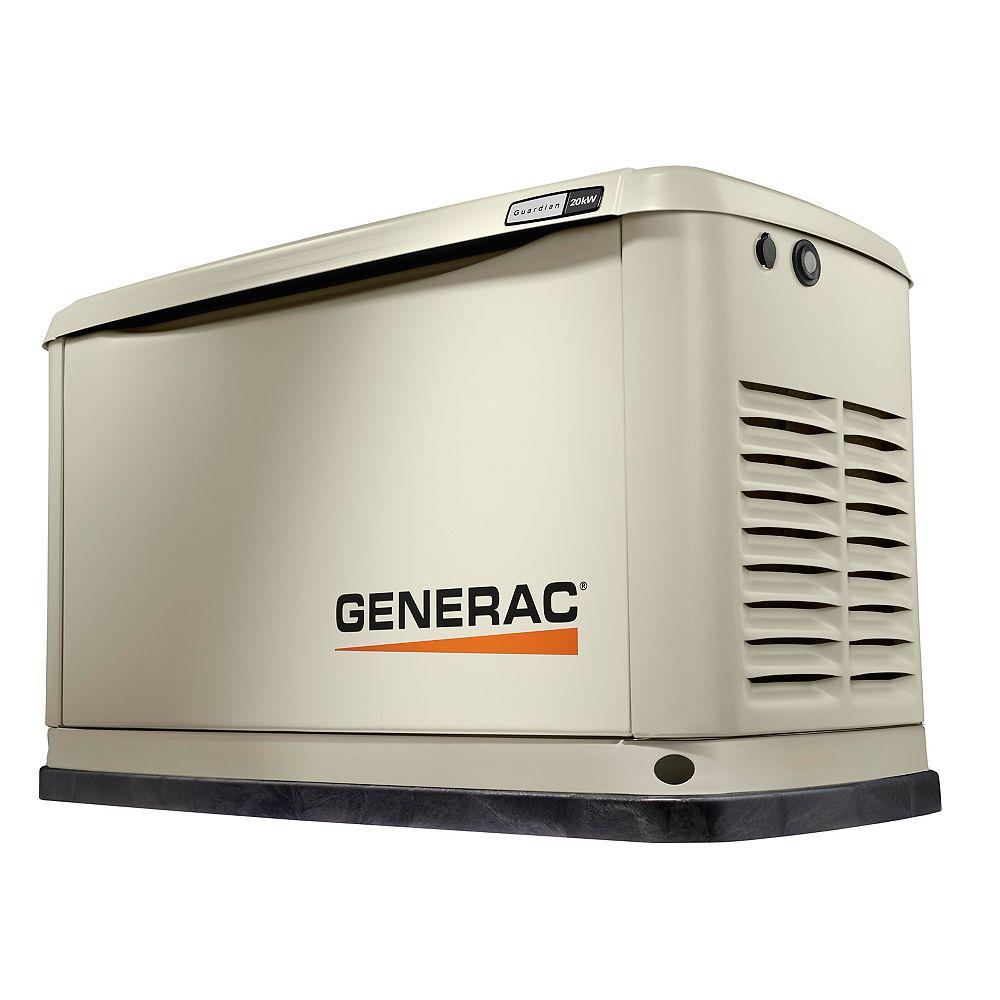 Generac 20/17 kW Air-Cooled Standby Generator, Aluminum Enclosure - 3 Phase