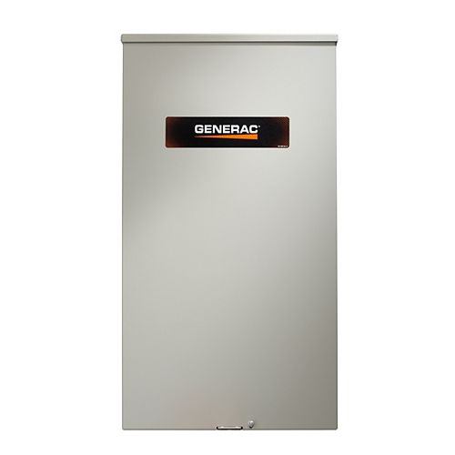 120/240-volt 400 amp non service nominale monophasé NEMA 3R commutateur de transfert intelligent