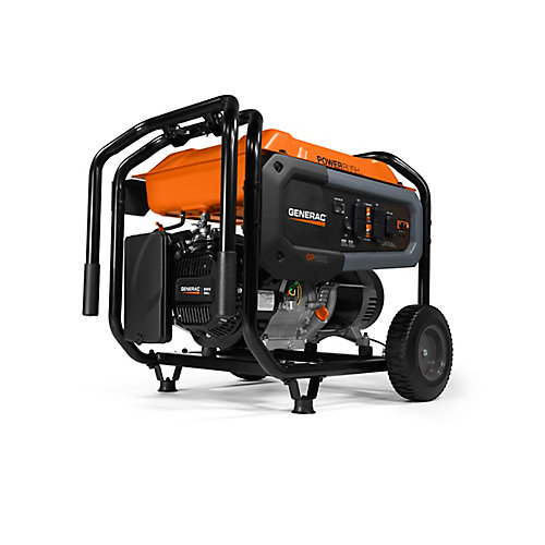 GP 6500W Portable Generator with Electric Start