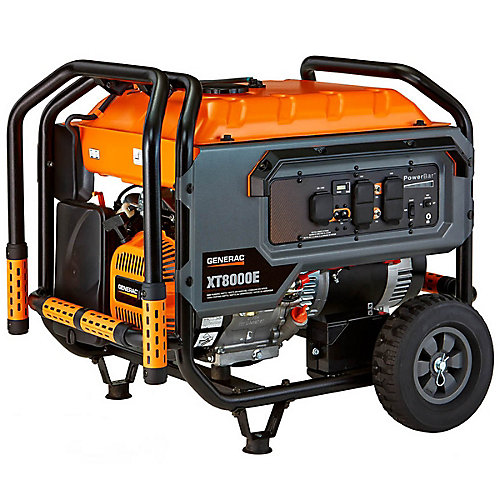 XT 8000 Watt Portable Generator with Electric Start