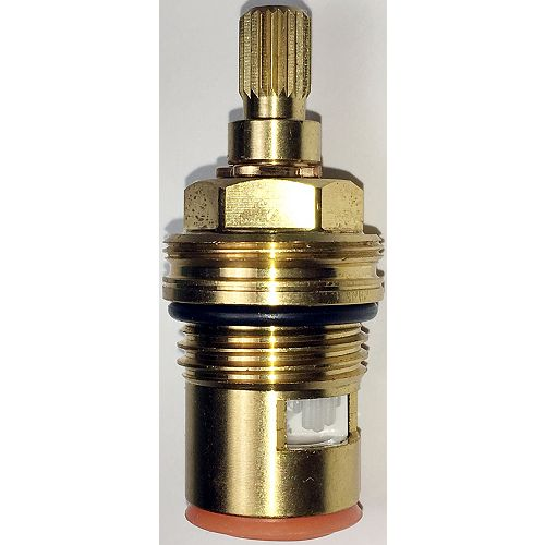 Jag Plumbing Products 1/2 inch Ceramic Cartridge Fits Jado and Luxury Brand Faucets -Hot