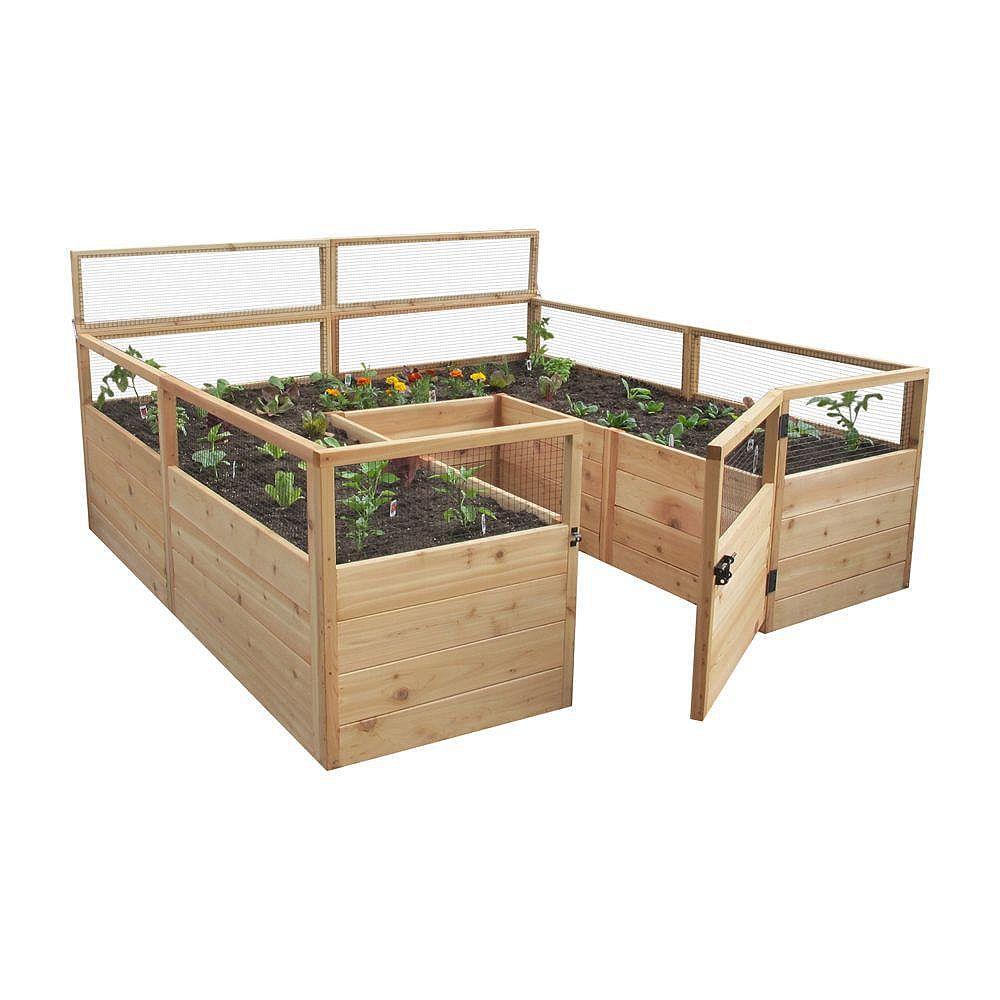 Outdoor Living Today 8 ft. X 8 ft.  Raised Garden Bed