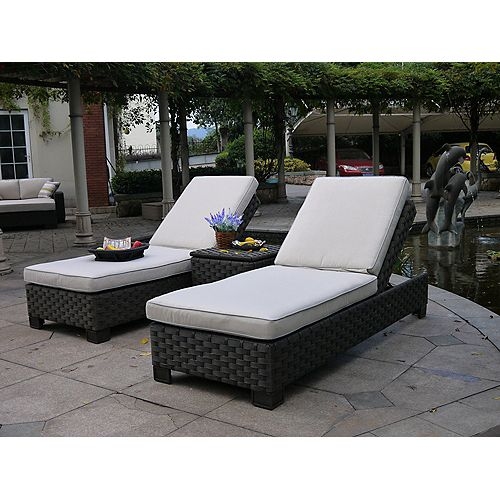 Hestia 3pcs Chaise Lounge Set