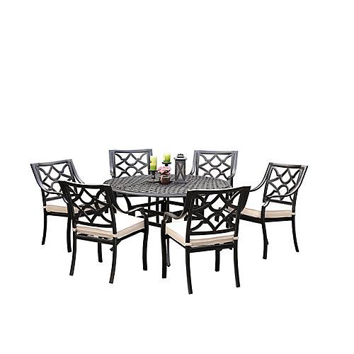 Delilla 7pcs Dining Set